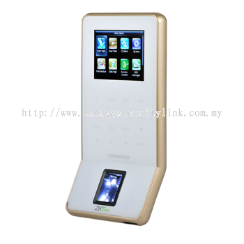 F22 Ultra thin fingerprint time attendance and access control terminal (White)