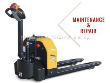 Electric Pallet Truck Maintenance & Repairing & Servicing