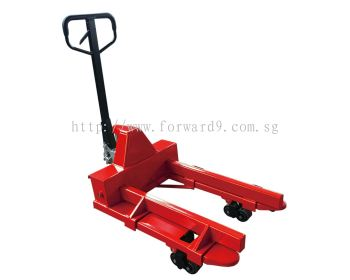Additional & Removable Parts on Paper Roll Hand Pallet Truck