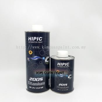 HIPIC 200s Clearcoat
