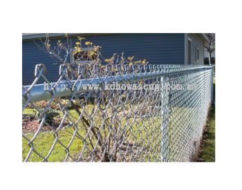 Aluminium chain link fence