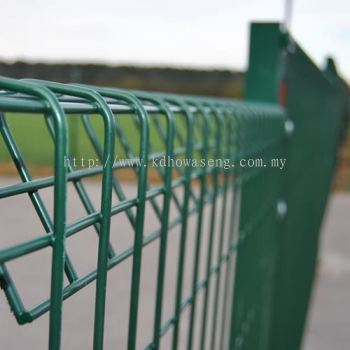 High Security Fencing - Roll Top Security Fence