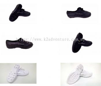 KAMPUNG ADIDAS RUBBER SHOES WHITE (LACE)