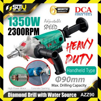 DCA AZZ90 Diamond Drill With Water Sourec 1350w