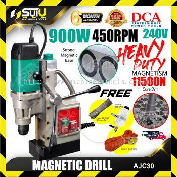 DCA AJC30 Magnetic Drill 900w