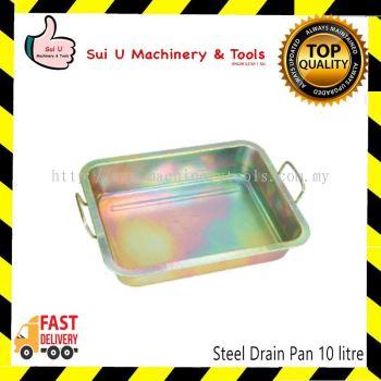 Steel Drain Pan 10 litre