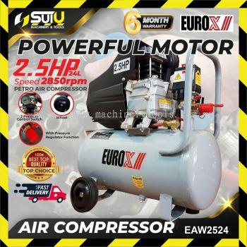 Eurox EAX-2524/EAW2524 Air Compressor 2.5hp 24litre