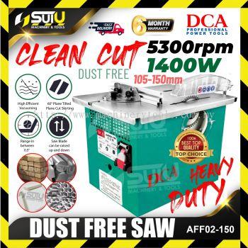 DCA AFF02-150 DUST-FREE SAW 1400w 105-150mm