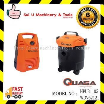 Quasa 800w Vacuum Cleaner & 105bar High Pressure Cleaner(Combo Set)