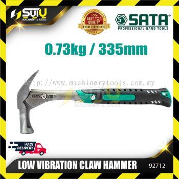 Sata 92712 Low Vibration Claw Hamer (Crane type) 0.8LB
