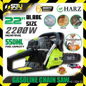 "Harz HZ-1223-22 Petrol Chain Saw 22"" 58cc"