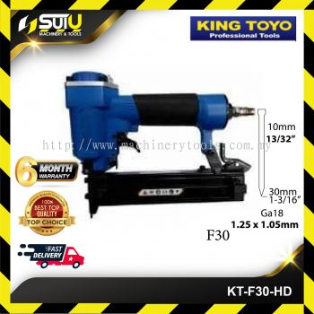 KINGTOYO KT-F30-HD Air Nailer/Stapler 10-30mm