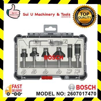 Bosch Professional 2607017470 6-Piece Set Trim and Edging Set 1/2'' Shank
