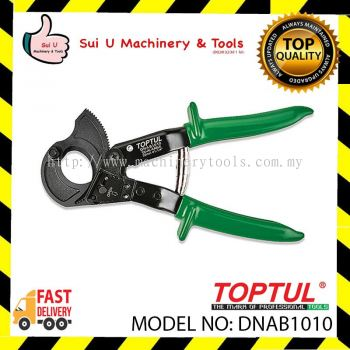 TOPTUL DNAB1010 10'' Ratcheting Cable Cutter