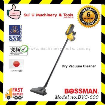 BOSSMAN BVC-600 Dry Vacuum Cleaner 600w
