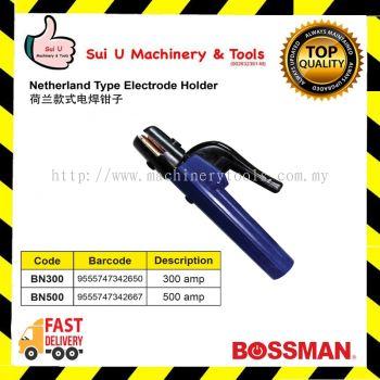 BOSSMAN Netherland Type Electrode Holder 300amp~500amp