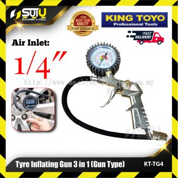 KINGTOYO KT-TG4 Tyre Inflating Gun 3 in 1