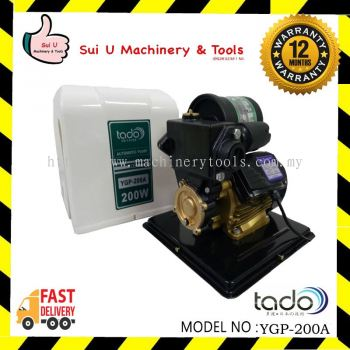TADO YGP-200A Automatic Home Water Pump 0.25HP 0.20KW