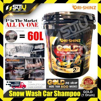 ORISHINZ GOLD Snow Wash Car Shampoo 2.7 kg ( 1 Drum )