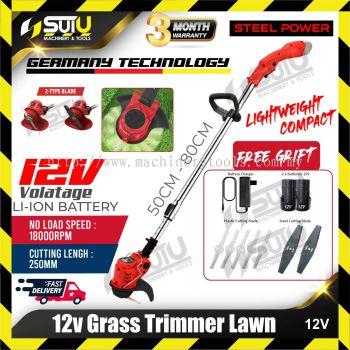 STEEL POWER 12V Grass Trimmer Lawn 18000rpm