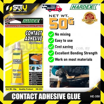 HARDEX HE-350 / HE350 Contact Adhesive Glue 50G