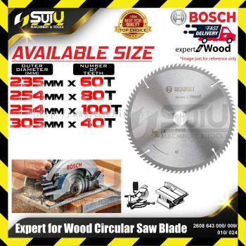 BOSCH 2608643000/ 009/ 010/ 024 Expert For Wood Circular Saw Blade (235mm-305mm)