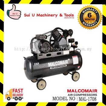 MALCOMAIR MAL1708 / MAL-1708 100L 2HP Air Compressor