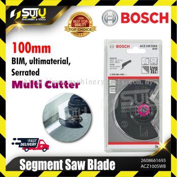 BOSCH 2608661693 (ACZ 100 SWB) 100MM BIM Segment Saw Blade (Ultimaterial, Serrated Multi Cutter)