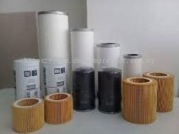 Air Filter, Oil Filter, Oil Separator