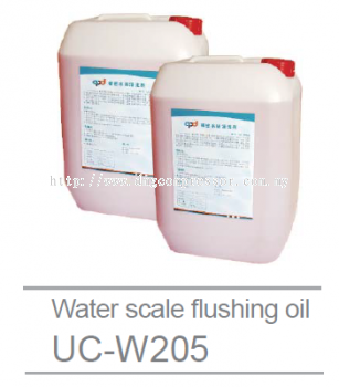 Water scale flushing oil UC-W205