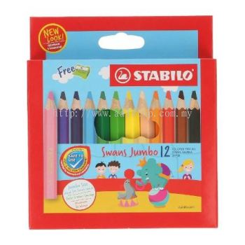 STABILO JUMBO 12 SHORT(ART NO:1873J)