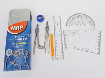 MAP 2 METAL COMPASSES