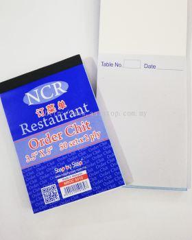 RESTAURANT ORDER CHIT
