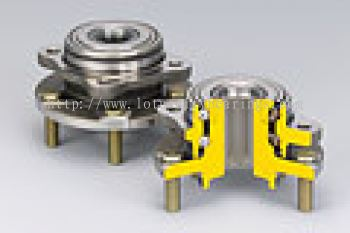 Double-Row Angular Contact Ball Bearings with Inner and Outer Mounting Flange (HUBIII for Driven Wheels)