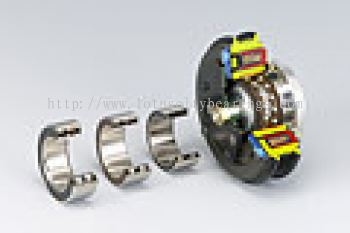 Thin Cross-Section Double Row Angular Contact Ball Bearings for Magnetic Clutch