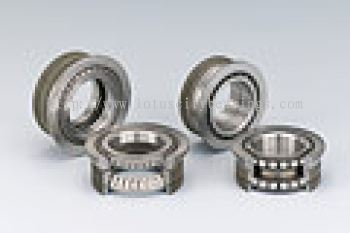 Long Life Double Row Bearings with Outer Ring Splines