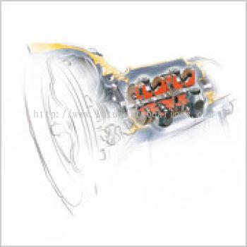 Half Toroidal CVT POWERTOROS Unit