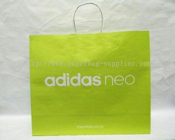 White Craft Paper Bag Supplier KL