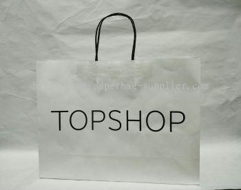 White Craft Paper Bag Supplier Kuala Lumpur