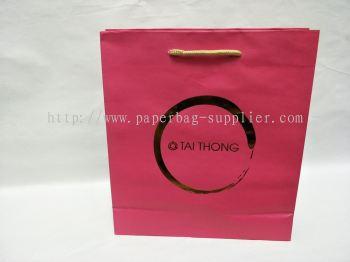 White Craft Paper Bag Supplier Melaka