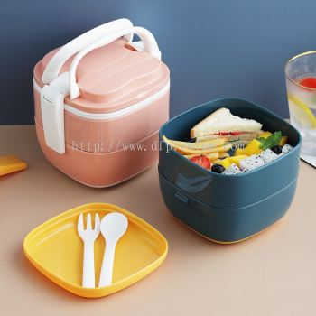 2 Layers Lunch Box