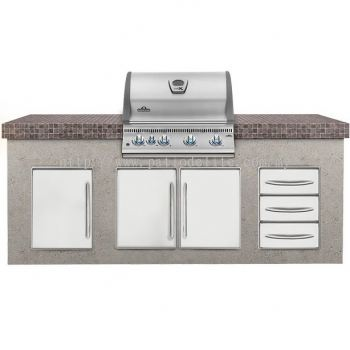 Built-In LEX 485 (Stainless Steel) Gas Grill Head