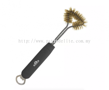 NAPOLEON THREE SIDED GRILL BRUSH WITH BOTTLE OPENER