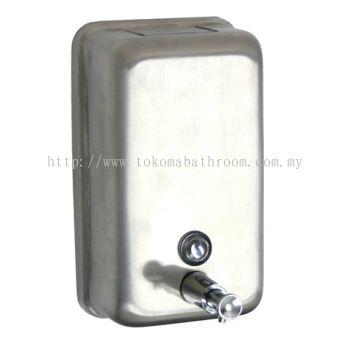 STAINLESS STEEL VERTICAL SOAP DISPENSER