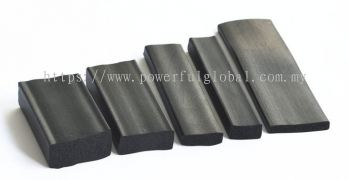 Extruded epdm sponge rubber closed cell seals