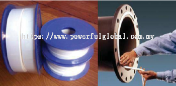 Expanded PTFE tape as gasket