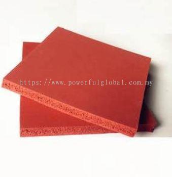 Silicone Sponge Red