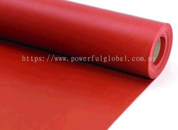 Red Silicone Sheet