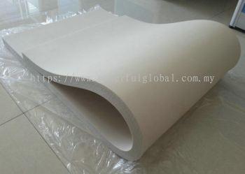 White Silicone Pad