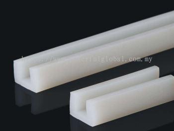 Silicone extruded rubber U profile